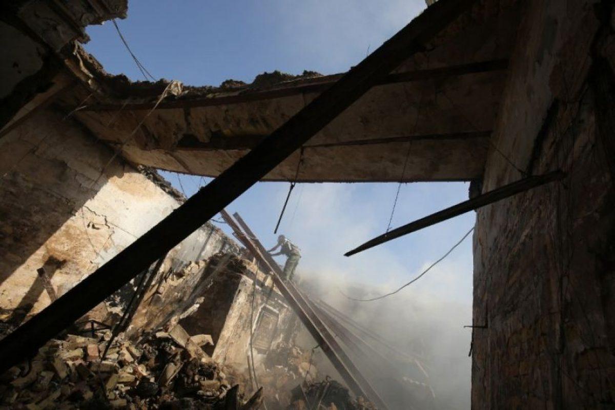 También hubo toma de rehenes Foto:AFP