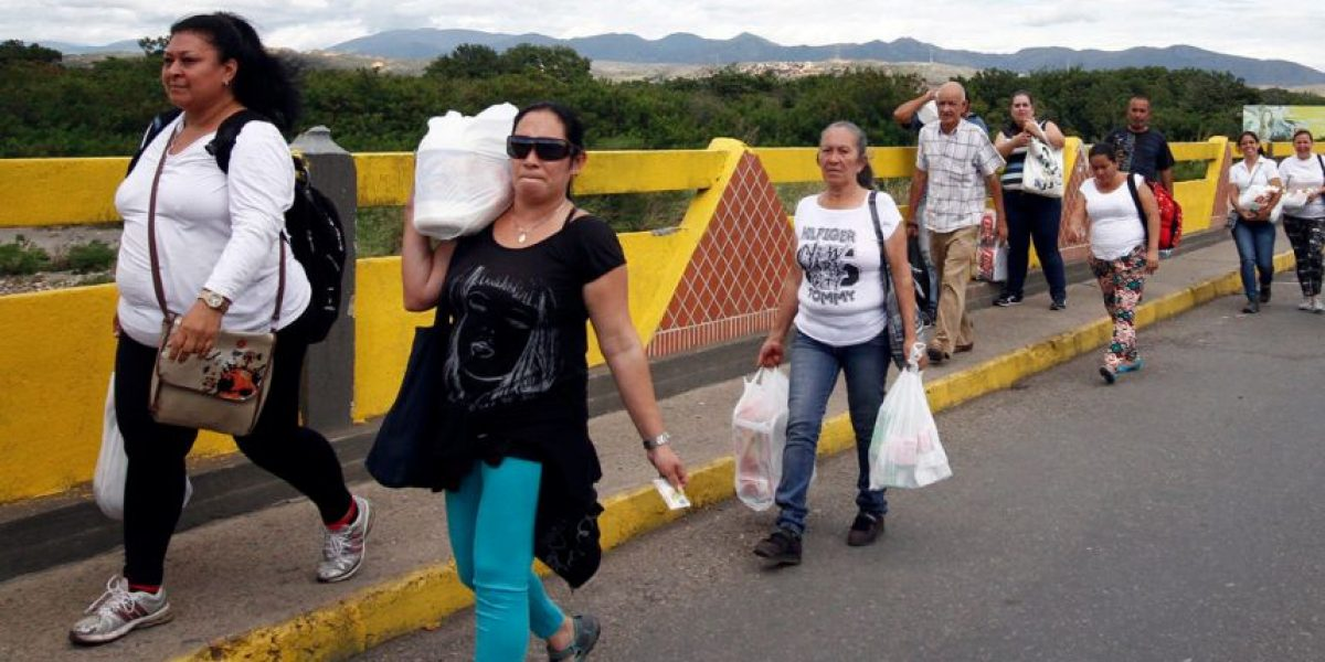 35.000 venezolanos cruzaron la frontera para comprar alimentos en Cúcuta