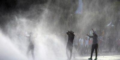 Sin embargo, dos horas antes del partido ya estaba llena Foto:AFP