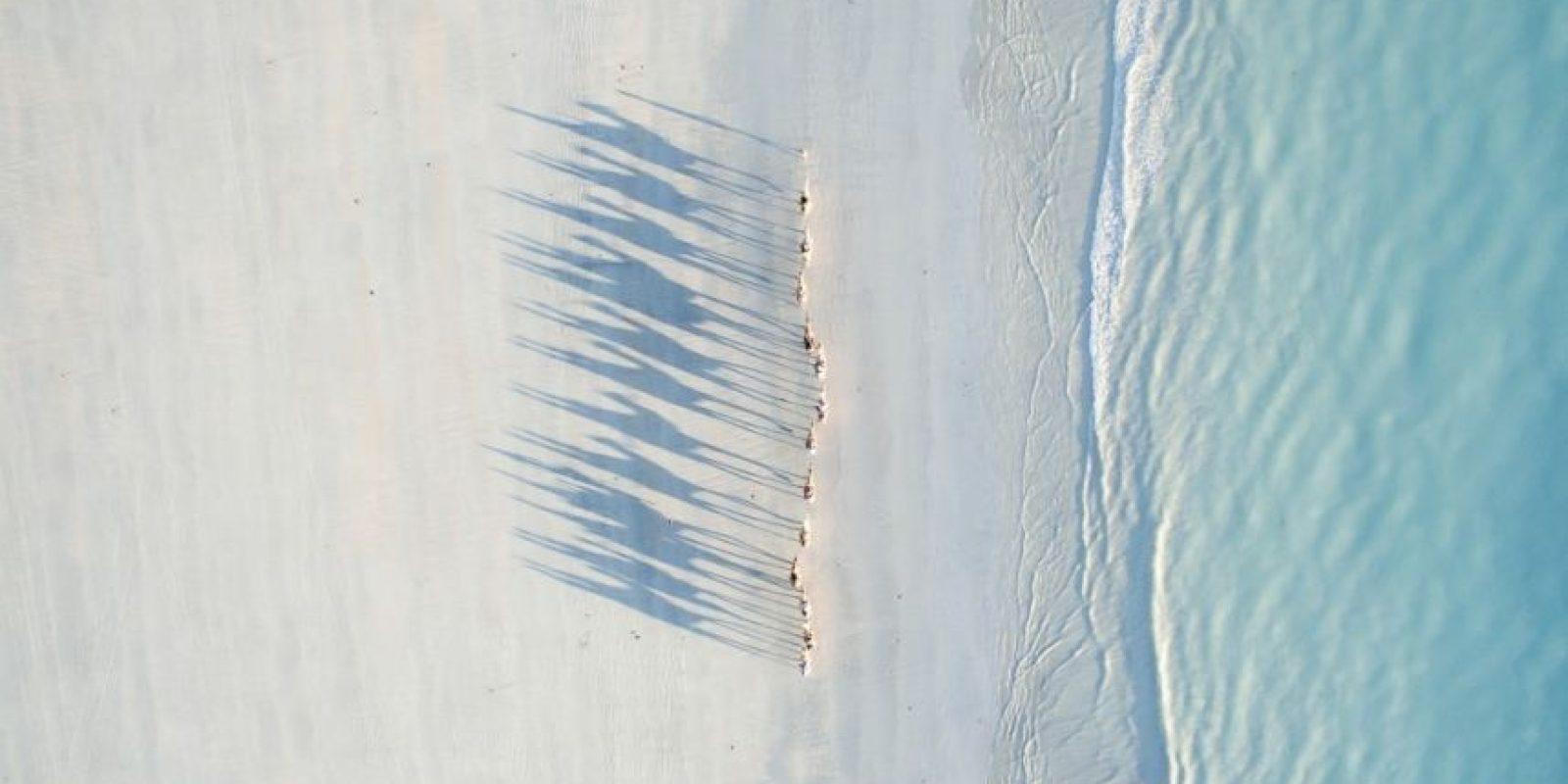Segundo lugar: Cable Beach Foto:Autor: Todd Kennedy – Dronestagram.com