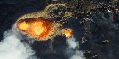 Tercer lugar: Volcán Piton de la Fournaise Foto:Autor: Jonathan Payet – Dronestagram.com