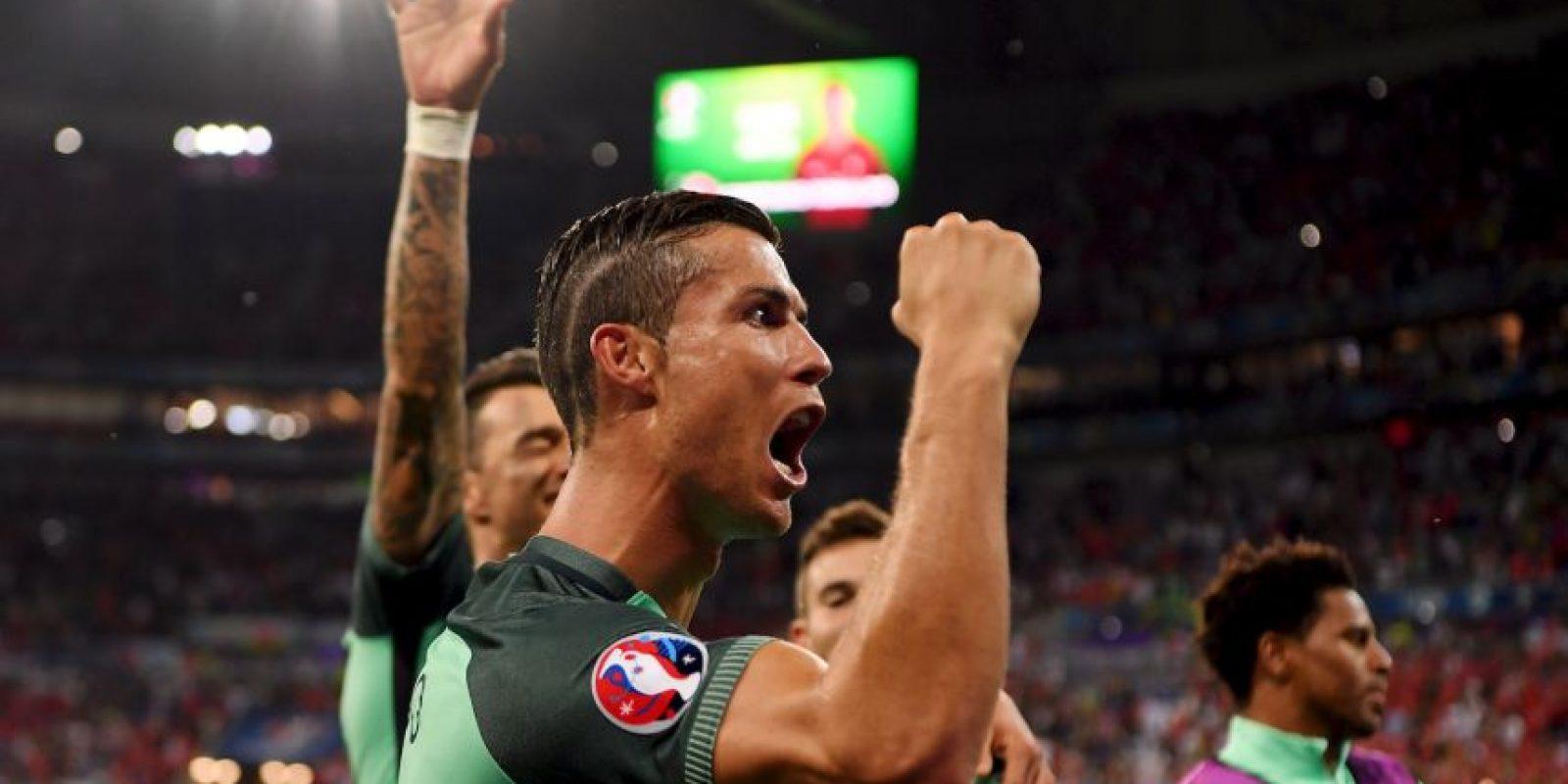En semifinales exhibieron su mejor juego y ganaron por 2 a 0 a Gales, con un tanto de Cristiano Ronaldo y una asistencia del mismo jugador para que Nani convirtiera Foto:Getty Images