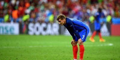 El delantero francés y gran figura del torneo no pudo ocultar su desazón tras caer en 'su' Eurocopa Foto:Getty Images