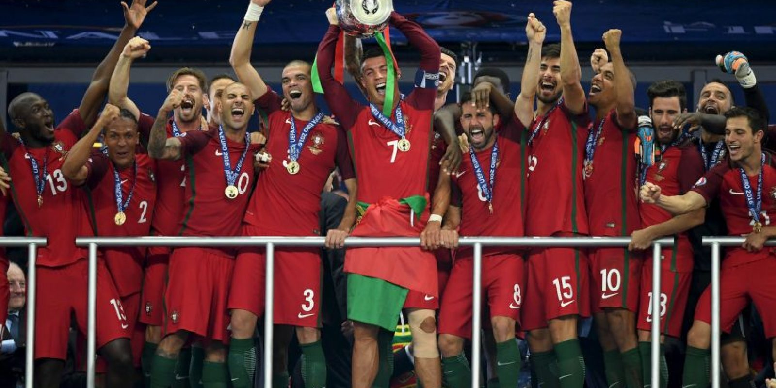 Portugal – 1 título (2016) Foto: Getty Images