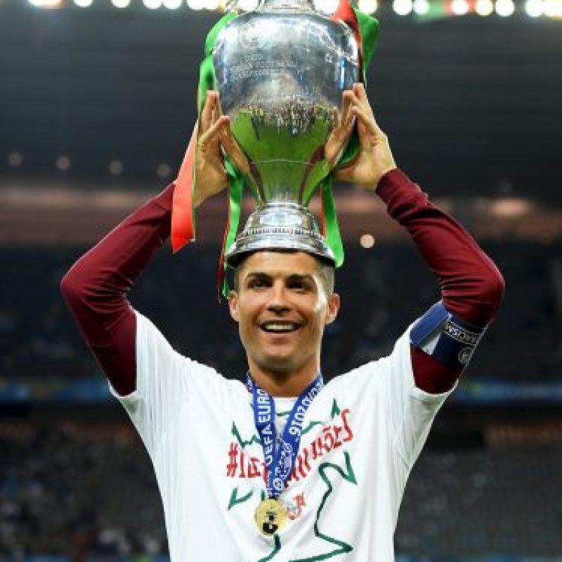 Cristiano Ronaldo coronó su revancha Foto:Getty Images