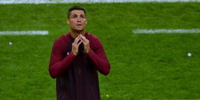 Una vez conseguido el triunfo y la Eurocopa, no aguantó las lágrimas Foto:Getty Images