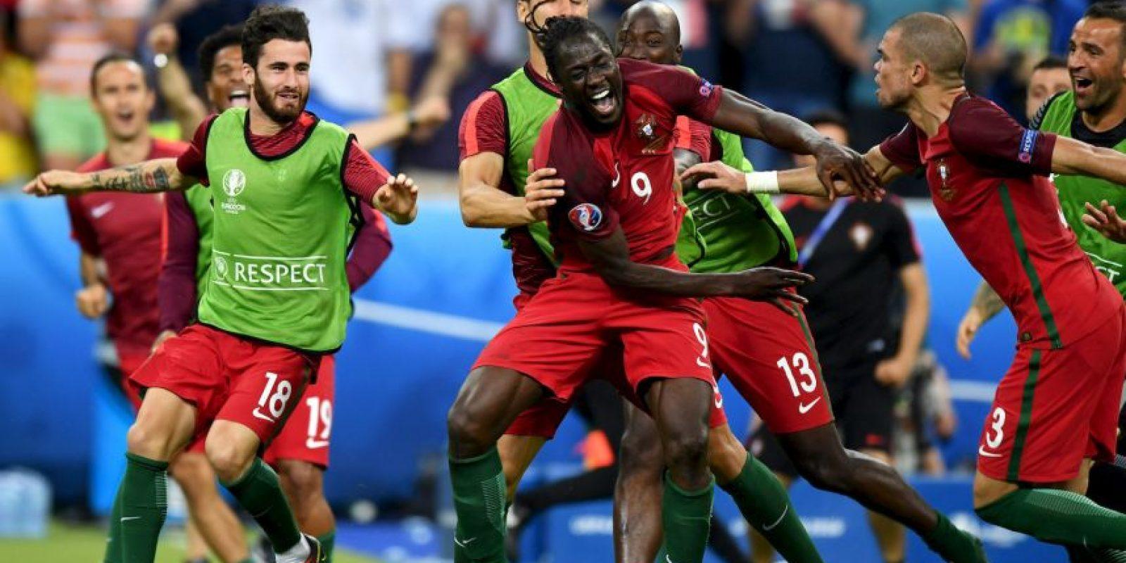 Eder entró a la historia del fútbol portugués Foto:Getty Images