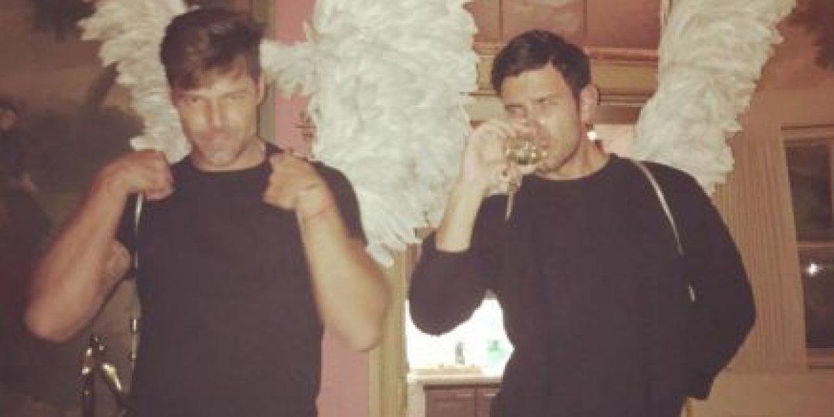 Ricky Martin y su novio presumen sus músculos ¿quién es más sexy?
