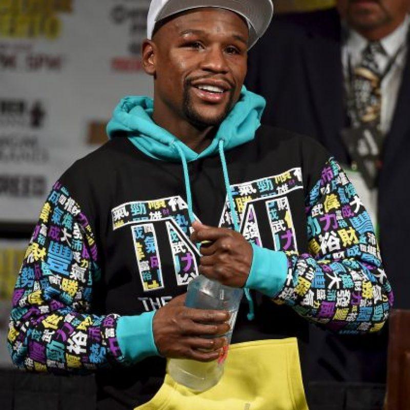 Floyd Mayweather es el único boxeador del listado Foto:Getty Images