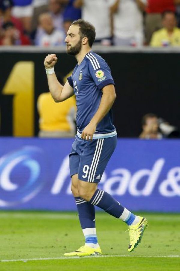 6. Gonzalo Higuaín (Nápoles/Argentina). 60 millones de euros Foto:Getty Images