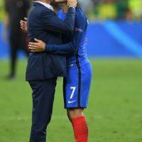 Así sufrió Griezmann en la final de la Euro 2016 Foto:Getty Images