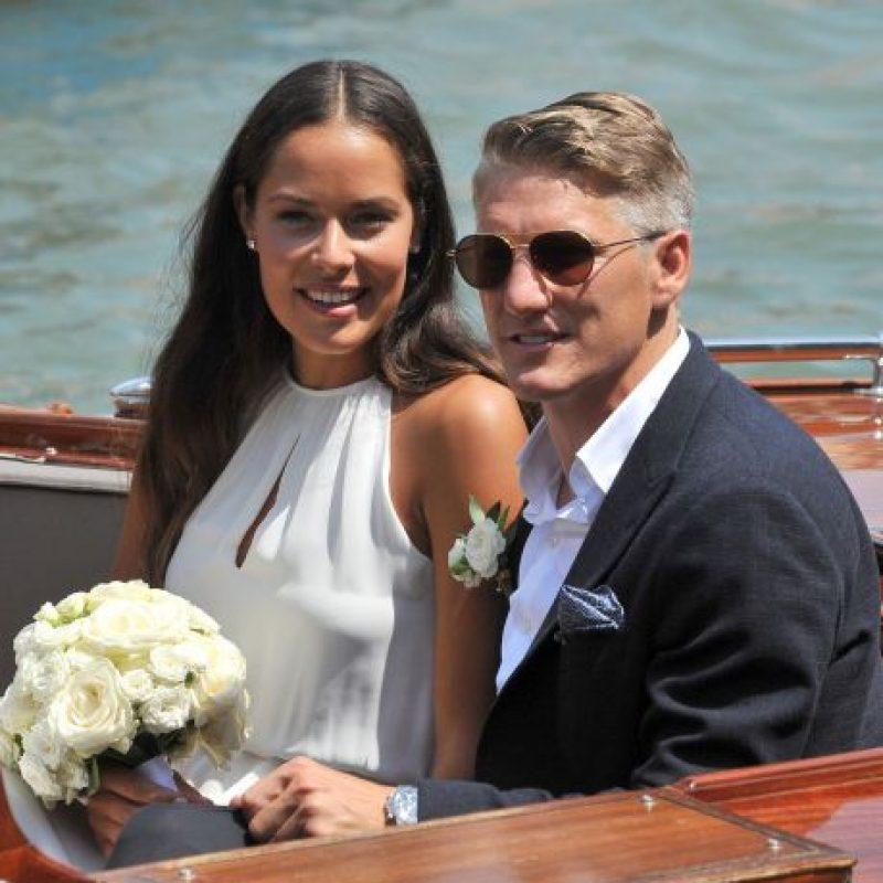 Todo lo sellaron con un paseo por los canales venecianos Foto:AP