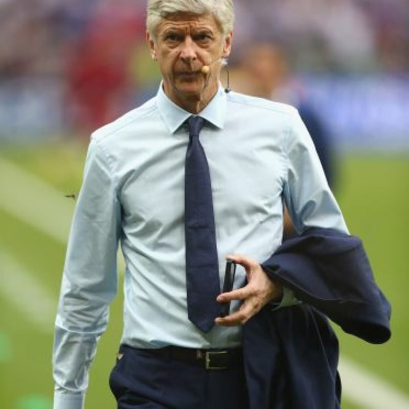 7. Arsene Wenger (Arsenal). 482.81 millones de euros Foto: Getty Images