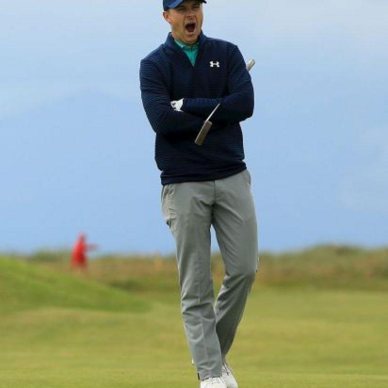Jordan Spieth. Uno de los mejores golfistas del mundo se bajó de los Juegos por miedo a contagiarse del virus del Zika Foto:Getty Images