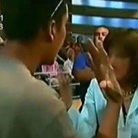 Ana María lo confronta por ello. Foto:Telemundo