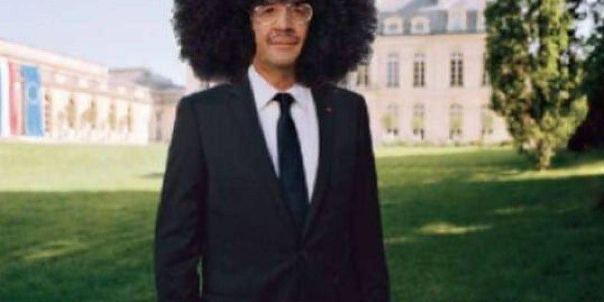 El peluquero del presidente de Francia gana 10 mil euros cada mes