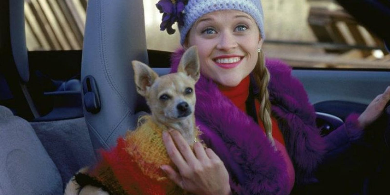 "Fue nominada para el Golden Globe Award de Mejor Película – Musical o comedia Foto:Facebook ""Legalmente rubia"""