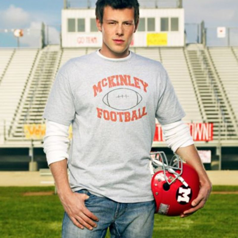 """Corey era el capitán del equipo de fútbol, """"Finn"""". Foto:vía FOX"""
