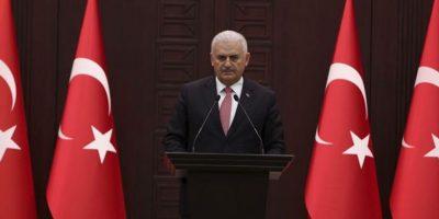 Primer ministro de Turquía, Bilari Yildirim Foto:EFE
