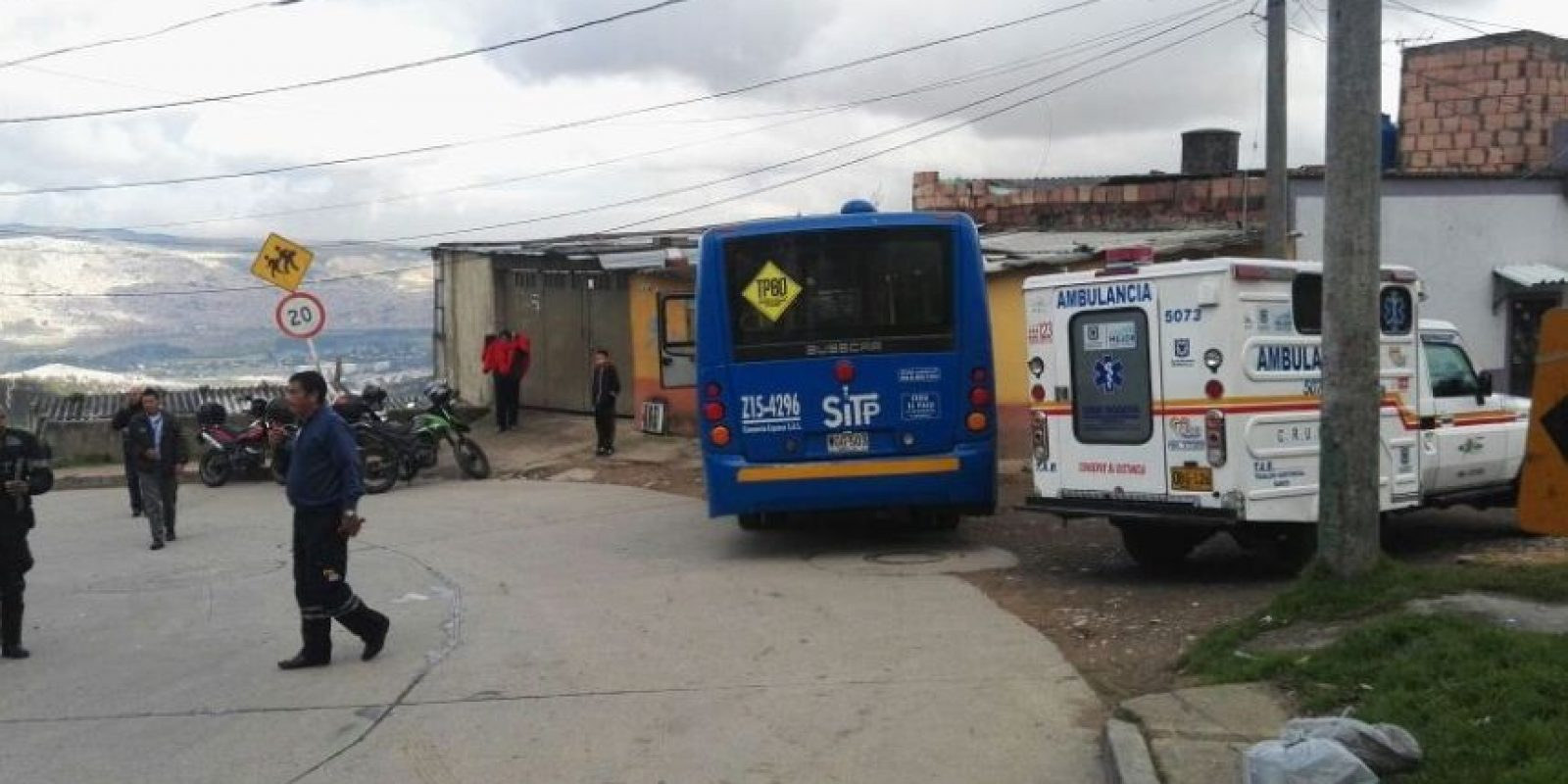 Foto:Cortesía Emergencias Bogotá