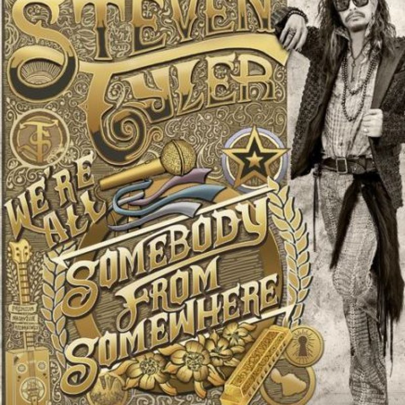 Foto:We're All Somebody From Somewhere – Steven Tyler