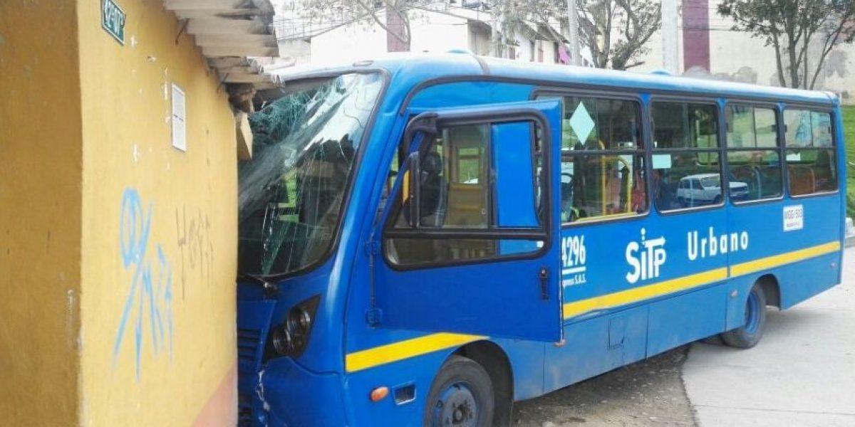 Accidente de SITP en San Cristóbal causó emergencia