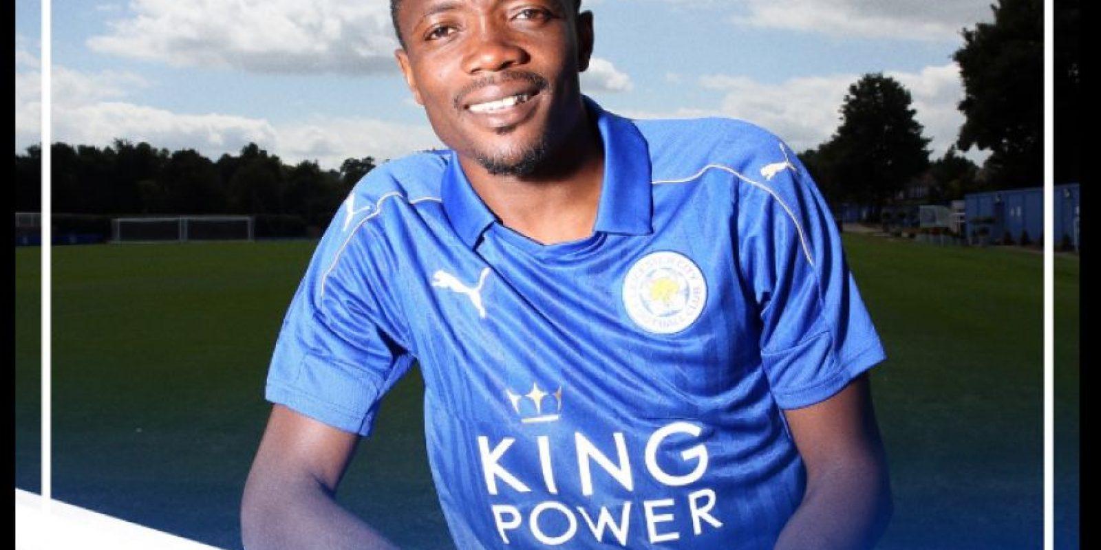 Ahmed Musa es el último fichaje que presentó Leicester Foto:Twitter Leicester