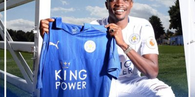 Ayudó con 13 goles para que su equipo se corone campeón Foto:Twitter Leicester