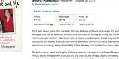 """La exrepresentante de Jackson, Shana Mangatal, también dio a conocer detalles sobre la vida sexual del cantante en el libro """"Michael and Me: The Untold Story of Michael Jackson's Secret Romance""""."""