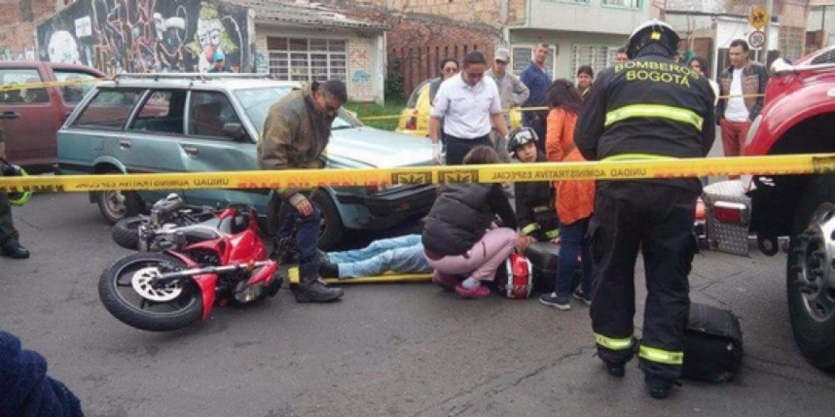 Grave accidente de tránsito se registra al occidente de Bogotá