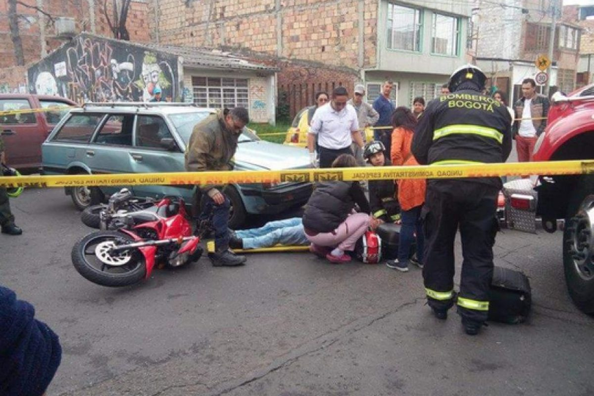 Foto:Tomada de 'Accidentes de Tránsito en Bogotá' en Facebook