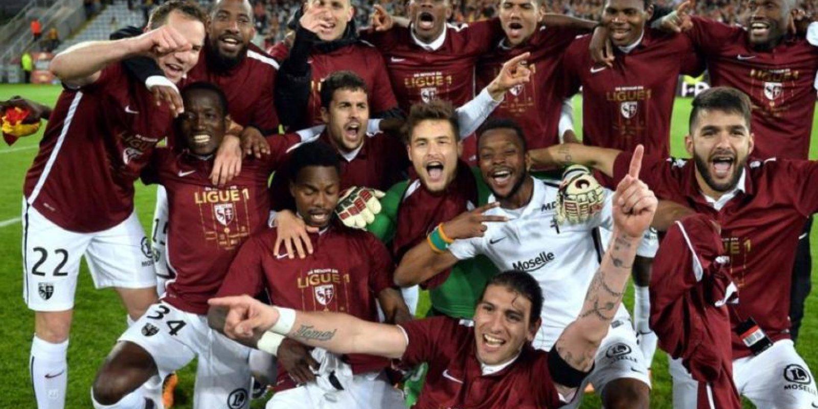 Ligue 1: Metz Foto:Twitter