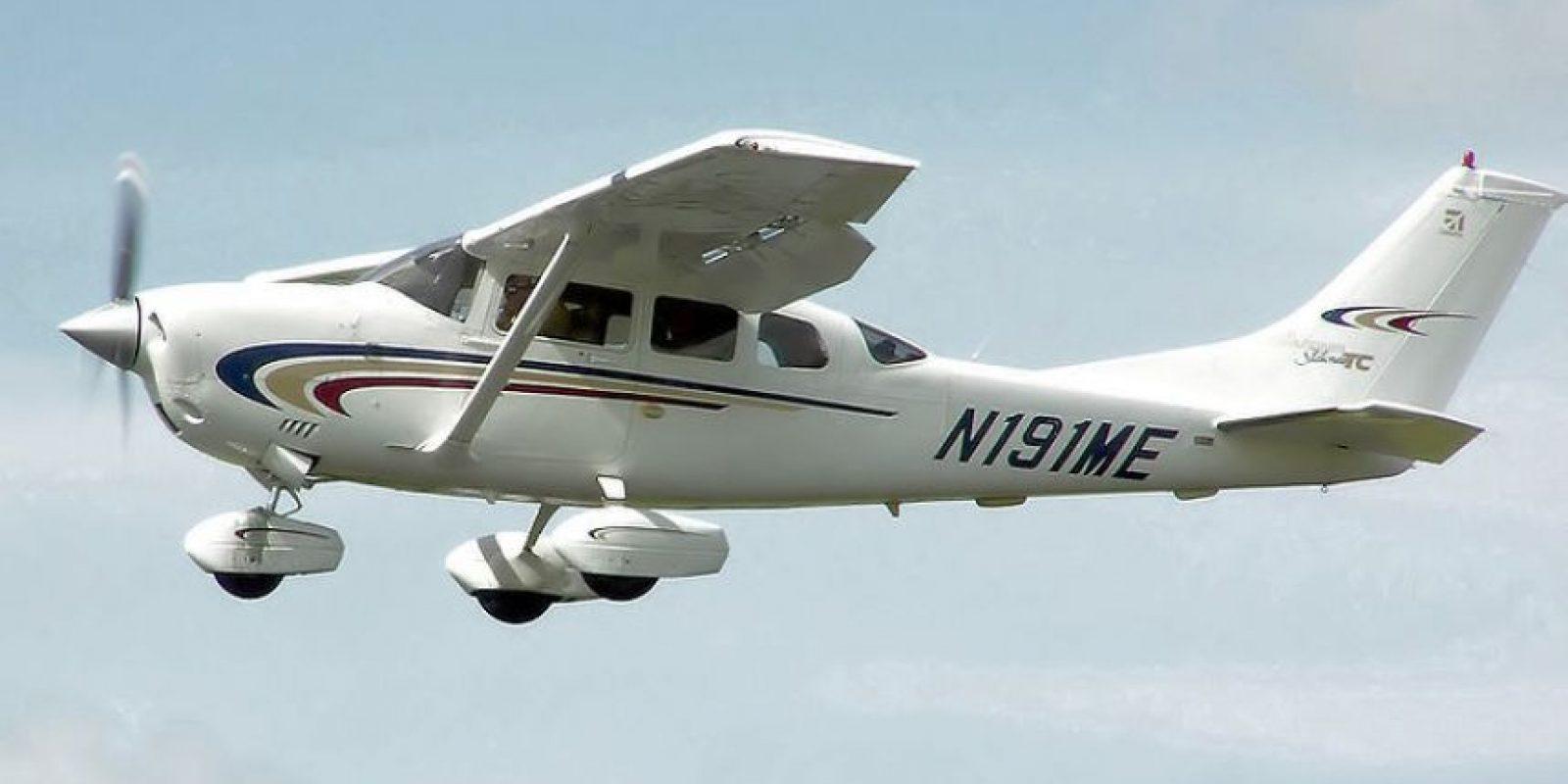 Una aeronave Cessna como la siniestrada en el Guaviare. Foto:Wikipedia