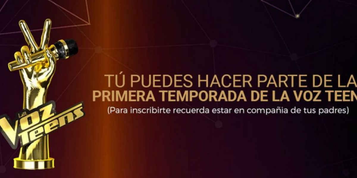 Conozca cómo puede ser parte de La Voz Teens Colombia, el nuevo reality de Caracol