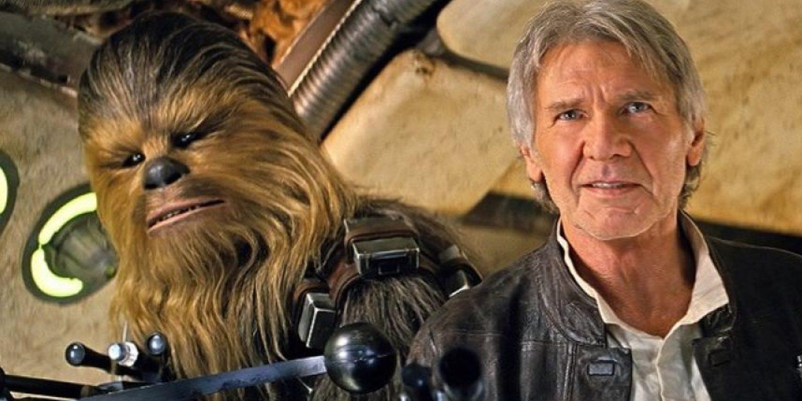 "Harrison Ford le dio vida a ""Han Solo"" desde 1977 hasta 2015"