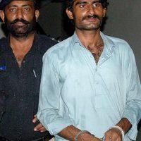 Waseem Azeem, el hermano de Qandeel Baloch que la asesinó con sus propias manos para salvar el honor familiar. Foto:Getty Images