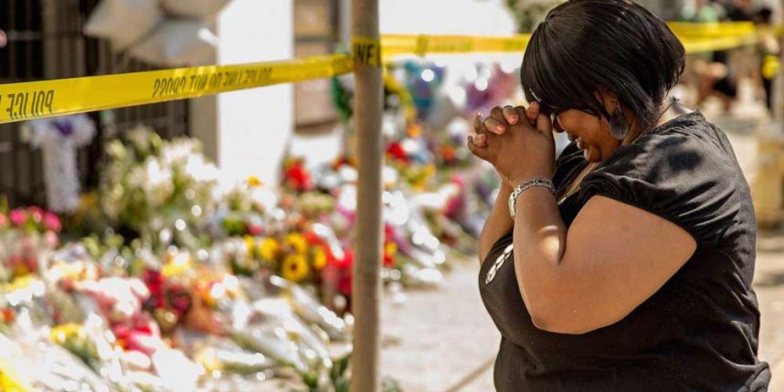 En junio de 2015, una iglesia de Charleston, Carolina del Sur, frecuentada por la comunidad afroamericana, fue atacada. El saldo fue de nueve personas muertas. Foto:Getty Images