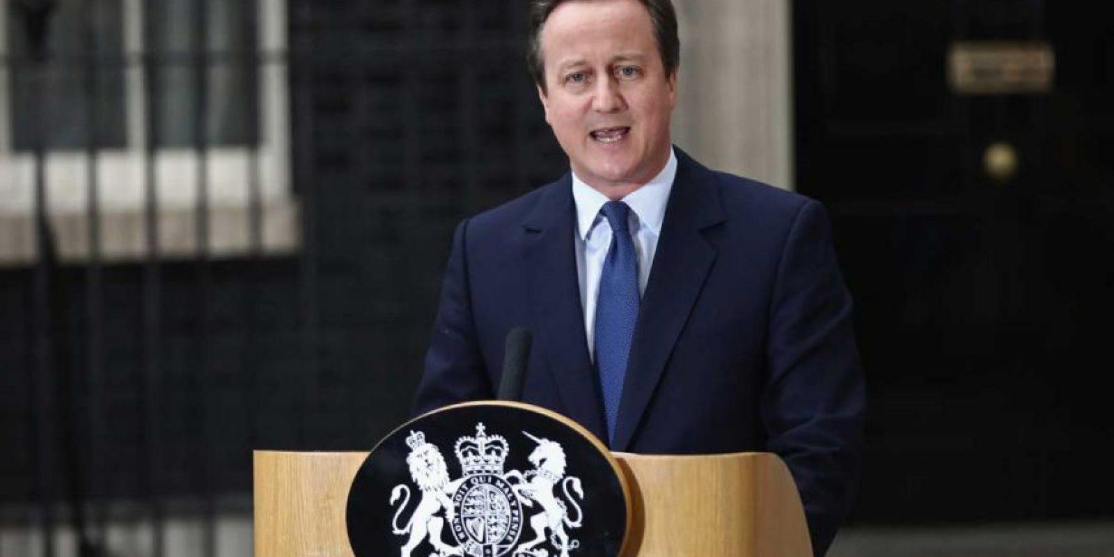 Estuvo al frente del Reino Unido del 11 de mayo de 2010 al 13 de julio de 2016. Foto:Getty Images