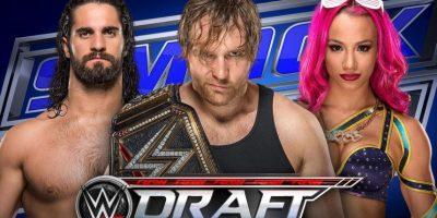 Hasta 71 superestrellas serán sorteadas en el Draft Foto:WWE