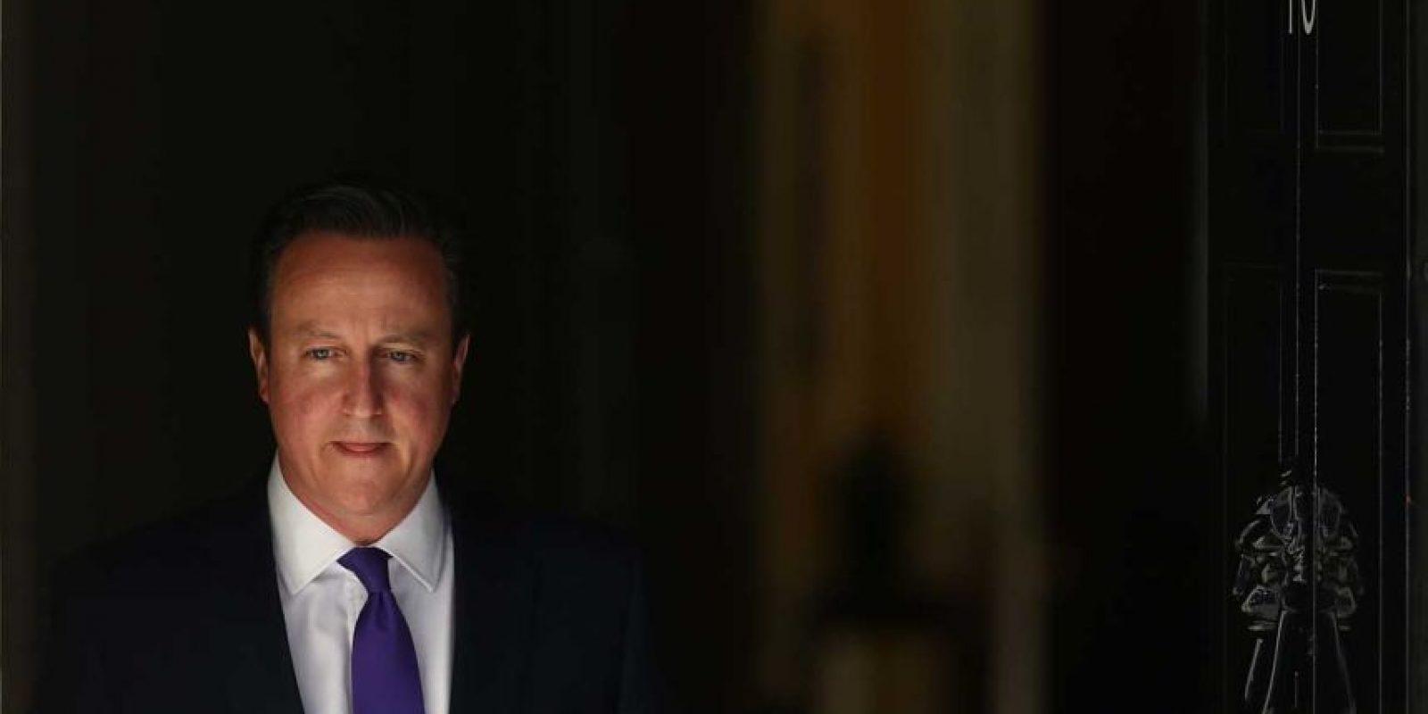 David Cameron es un político británico. Foto:Getty Images