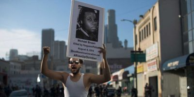 Todo comenzó con el asesinato del joven afroamericano Michael Brown. Foto:Getty Images