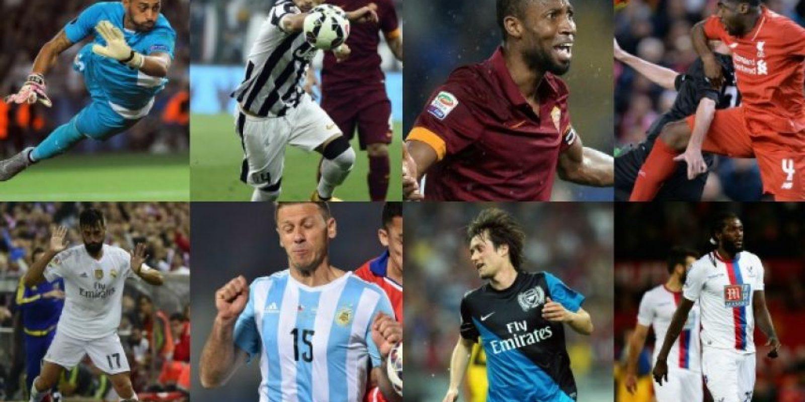 El once ideal de los jugadores libre del fútbol mundial