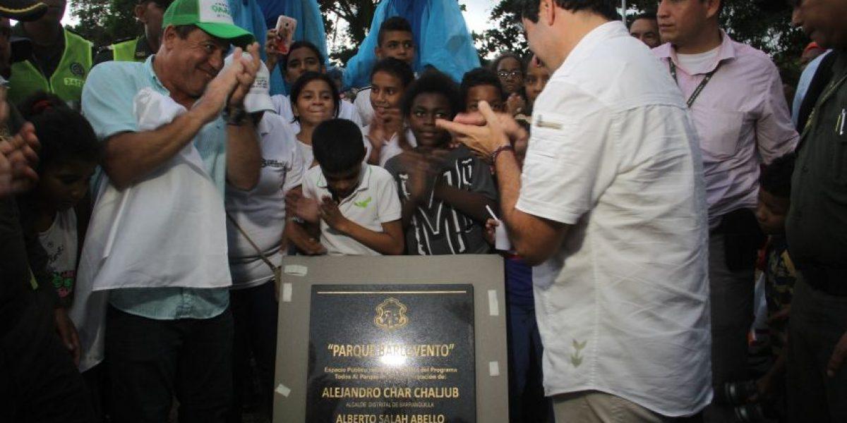 Estos son los tres parques que estrenó Barranquilla