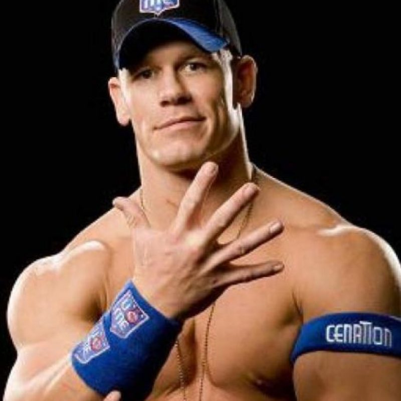 Los luchadores más importantes que participarán en el sorteo: John Cena Foto:WWE