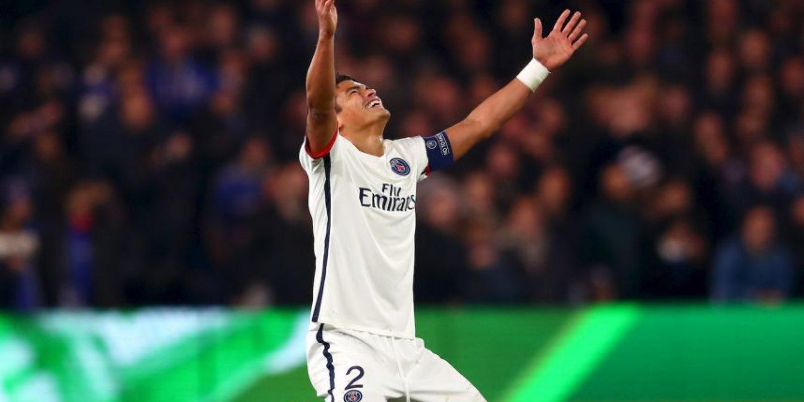 Thiago Silva es el defensor mejor pagado del mundo y percibe 12 millones al añoZ Foto:Getty Images