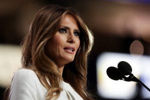 Melania Trump es acusada de plagiar fragmentos de un discurso de Michelle Obama Foto:Getty Images