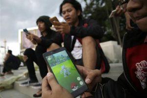 -Estando en la calle, sólo hagan lo necesario con Pokémon Go. Foto:AP