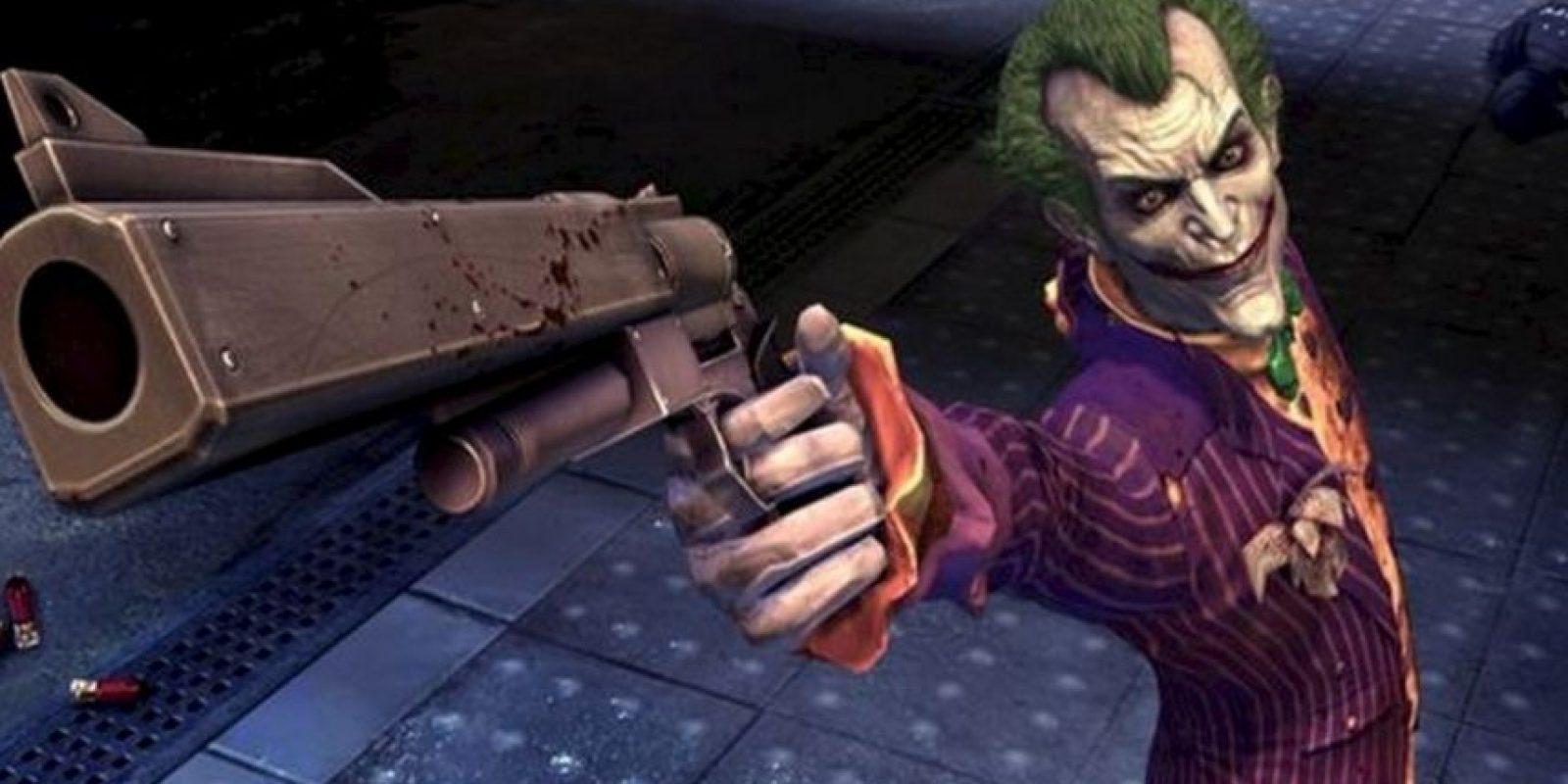 """Joker en el videojuego """"Batman:Arkham """". Foto:YouTube"""