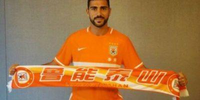 Graziano Pelle es otro de los fichajes que llegó esta temporada a China. Tiene el mismo salario que Hulk Foto:Captura de pantalla