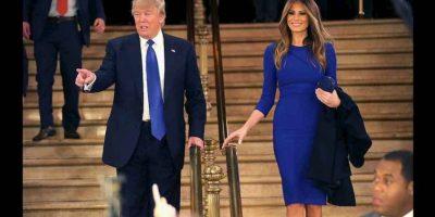 La Señora de Trump habló de lo s valores inculcados por sus padres en su infancia, mismos que comparte con el millonario de Nueva York. Foto:Getty Images
